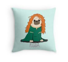 Pugida! Throw Pillow