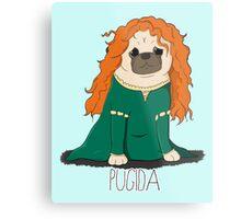 Pugida! Metal Print