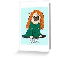 Pugida! Greeting Card