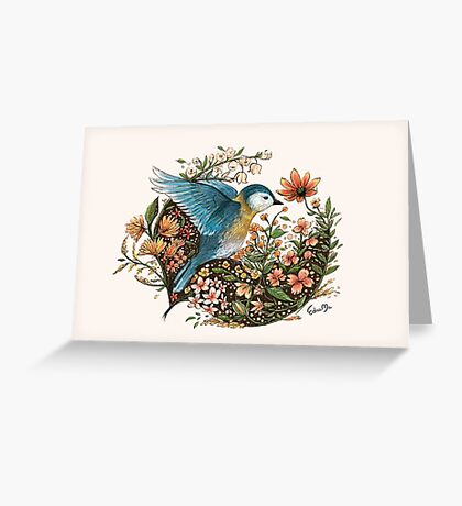 Wings of Courage Greeting Card