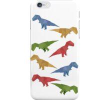 T-rex Origami iPhone Case/Skin