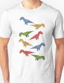 T-rex Origami T-Shirt