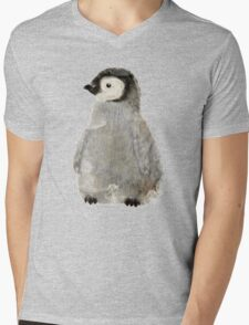 little penguin Mens V-Neck T-Shirt