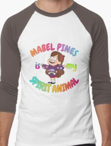 Mabel Pines is my Spirit Animal Multicolor Men's Baseball ¾ T-Shirt