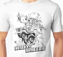 Willys Wheelie! Unisex T-Shirt