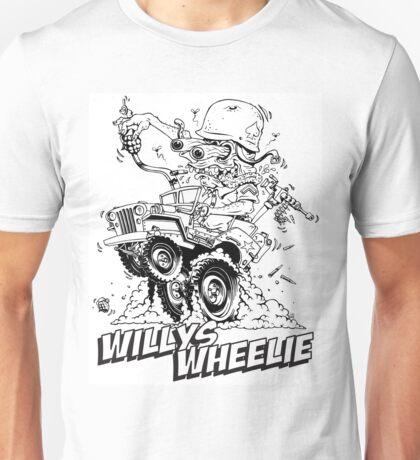 Willys Wheelie! Unisex T-Shirt