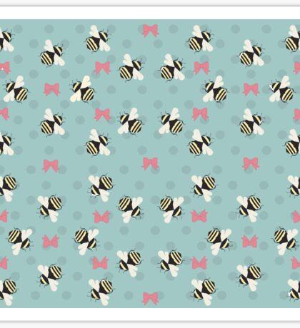 Bees & Bows Sticker