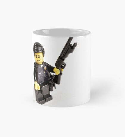 LAPD Patrol Officer - Custom LEGO Minifigure Mug