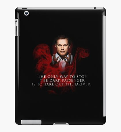 The Dark Passenger iPad Case/Skin