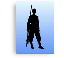 Rey - Standing Silhouette  Canvas Print