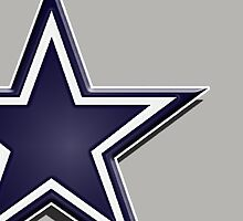 Cowboys star by Mikeb10462