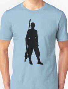 Rey - Standing Silhouette  Unisex T-Shirt