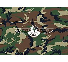 UNIT LOGO - CAMO Photographic Print