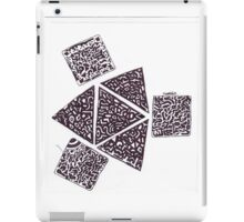 strong triangle iPad Case/Skin