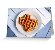 Texas Waffle Greeting Card