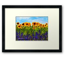Sunshiny Day Framed Print