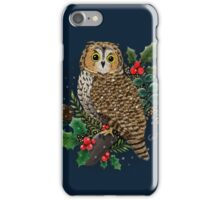 Holly Owl iPhone Case/Skin
