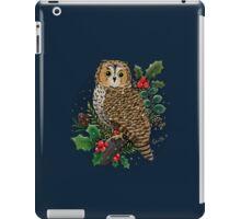 Holly Owl iPad Case/Skin
