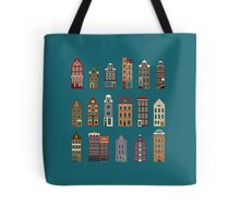 Typical European Houses Tote Bag