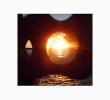 Lake Erie Sunset Through Beach Brick Unisex T-Shirt