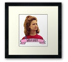 Kimmy Gibbler Whoa Baby Full House Framed Print