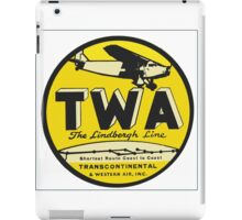 Trans World Airlines iPad Case/Skin