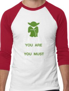 Yoda Workout Shirt Men's Baseball ¾ T-Shirt