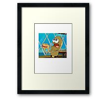 Fred The Fish Framed Print