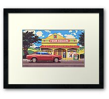 Shop, Bro Framed Print