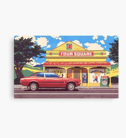 Shop, Bro Canvas Print