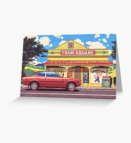 Shop, Bro Greeting Card