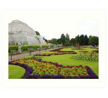 The Palm House at Kew Gardens Art Print