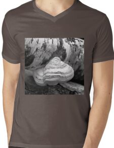Fungus on a Fallen Tree Mens V-Neck T-Shirt