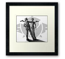 Masagoto feat. guns. Framed Print