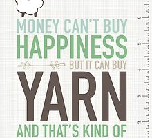Scribble Book - Money Can't Buy Happiness by littlemcrochet