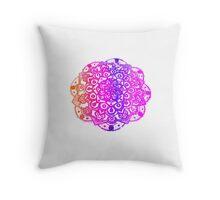 Watercolour Mandala  Throw Pillow