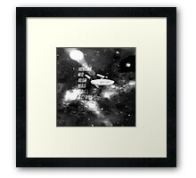 where no man has gone before Framed Print