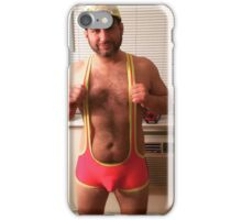 Who wants to wrestle?  iPhone Case/Skin