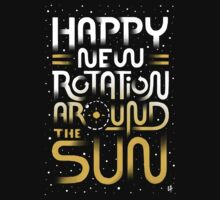 Happy New Rotation Around The Sun Kids Clothes
