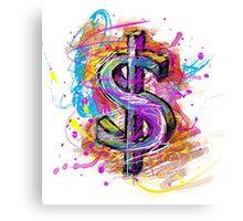 US Dolar Canvas Print