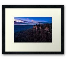Dawn at the Door Framed Print