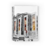 Towering Selective Colour Spiral Notebook