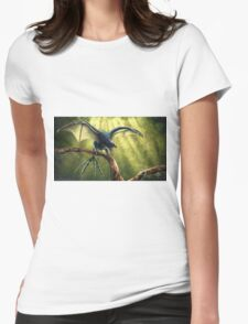 Yi Qi Womens Fitted T-Shirt