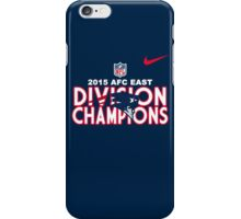 New England Patriots - 2015 AFC East Champions iPhone Case/Skin