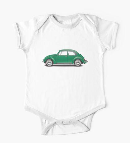 1971 Volkswagen Super Beetle - Elm Green One Piece - Short Sleeve