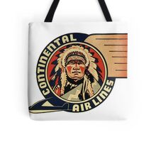 Continental Airlines Tote Bag