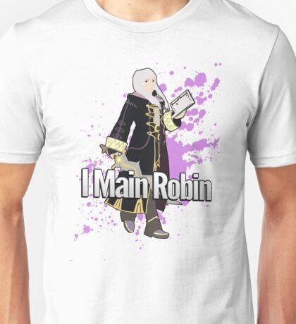 I Main Robin (Female Alt) - Super Smash Bros Unisex T-Shirt