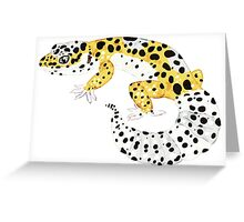 Leopard Gecko - Normal Morph Greeting Card