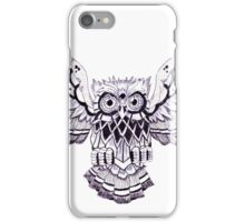 Pen & Ink Owl iPhone Case/Skin