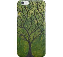 Ornate elvish tree iPhone Case/Skin